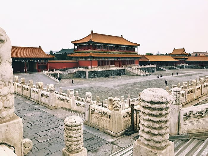 Tienanmen Square in Beijing