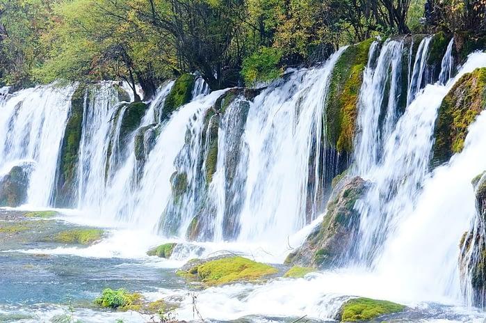 Jiuzhaigou National Park in Sichuan