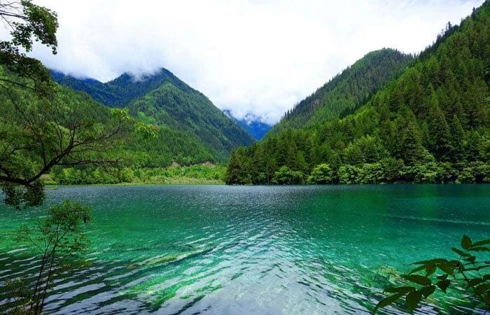 Jiuzhaigou Park of Sichuan