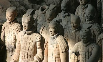 The Terracotta Army of Xi'an in China