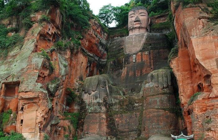 Leshan Giant Buddha in Sichuan