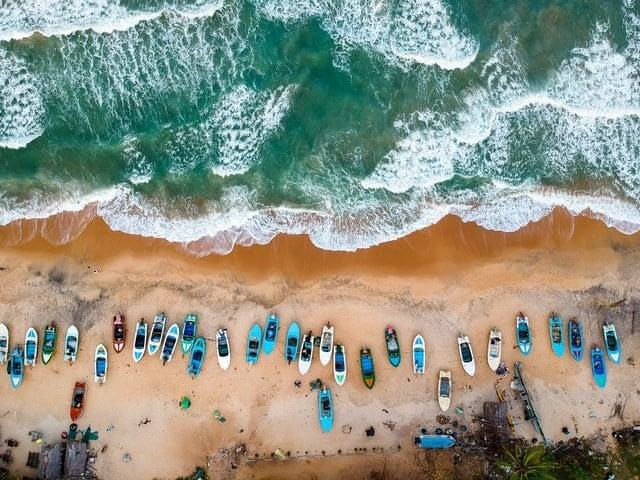 Arugam Bay of Sri Lanka