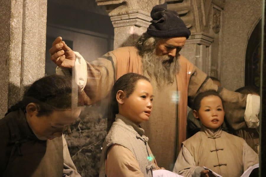 Status in Shanghai History Museum