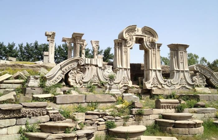Old Summer Palace in China