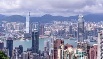 The Peak Tower of Hong Kong